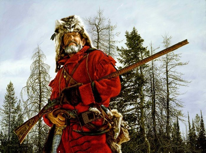 THE MOUNTAIN MAN - The Western artwork of Paul Calle