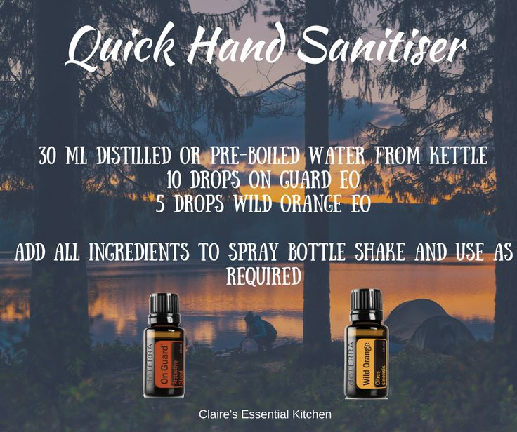 A quick and easy recipe for hand sanitiser, perfect for on the go and if you are after a toxin free alternative.