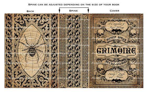 Spell Book Halloween sorcière téléchargement par chocolaterabbit