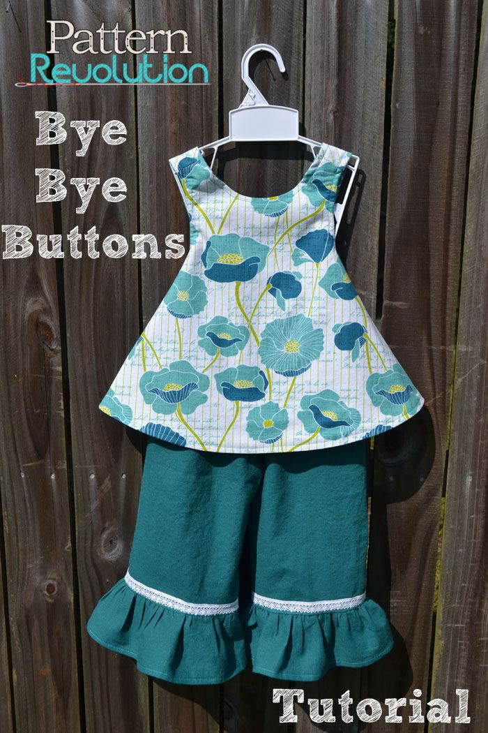 Bye Bye Buttons! A tutorial to make life easy! — Pattern Revolution