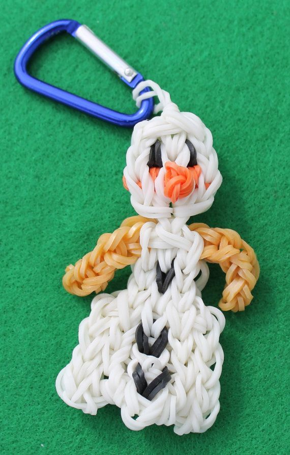1000 Images About Rainbow Loom Rubber Band Keychains On