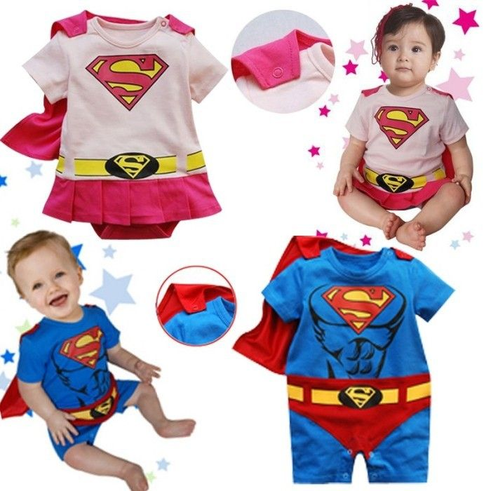 >> Click to Buy << New superman baby boy girls rompers summer fashion newborn jumpsuit cotton rompers baby clothing short sleeve baby wear #Affiliate