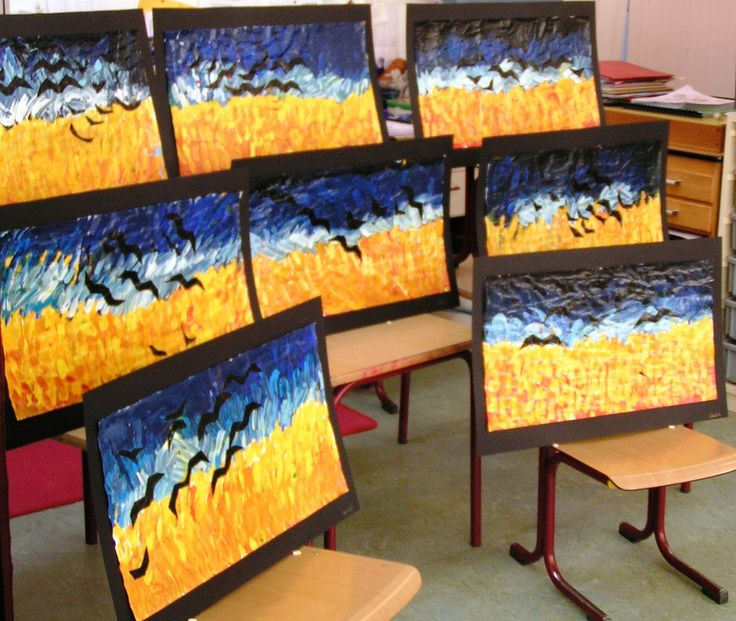 art project Vincent van Gogh | dutch-colours.blogspot.com/ | Flickr