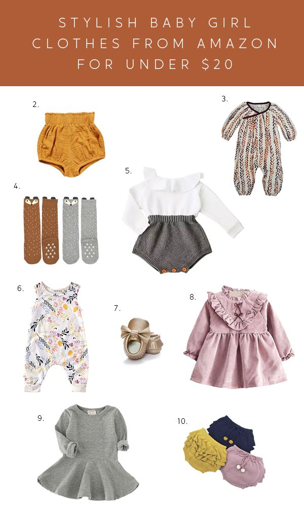 1efc688fbaff A super cute round up of affordable girl clothes you can find on Amazon  Prime!