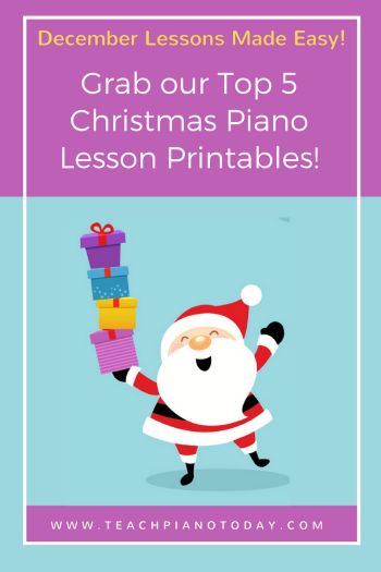 All of the best Piano Lesson printables in one easy-to-find spot!