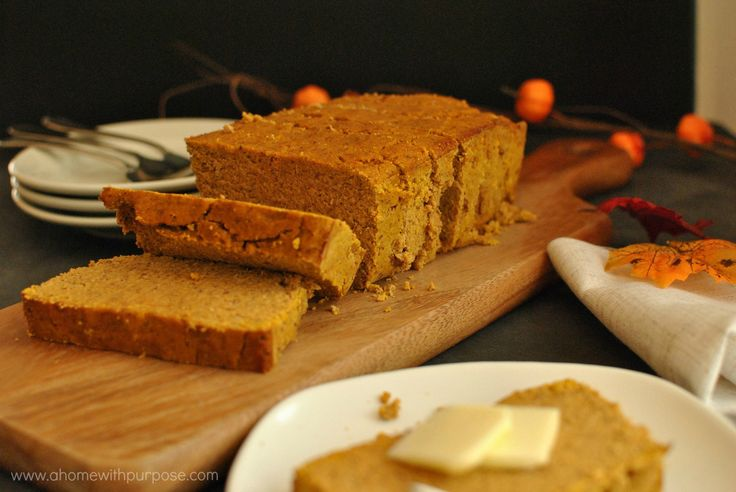 Low Carb Pound Cake Recipes: Sugar-Free Pumpkin Poundcake~ (S)