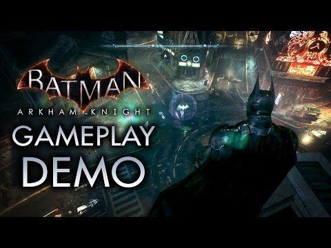 Batman: Arkham Knight - Predator Gameplay Demo - YouTube