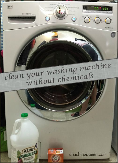 How to clean your washing machine without toxic chemicals - Healthy Home Tips DIY Cleaning