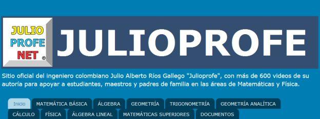 ¿Ya has visto los vídeos matemáticos de @julioprofenet? ¡Son súper interesantes! http://www.tekmanbooks.com/blog/videos-matematicas-julio-profe/