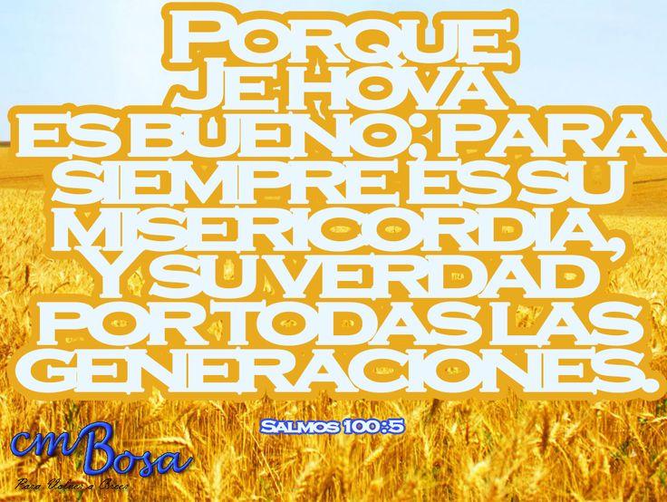Salmos 100 : 5  #Labiblia