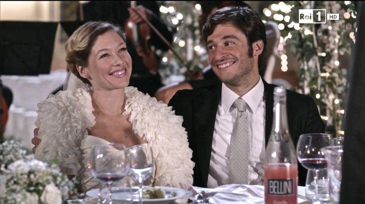 """Sarah Felberbaum e Primo Reggiani in """"Una grande famiglia"""" , fiction di Rai 1 (2014). #unagrandefamiglia #bellini"""