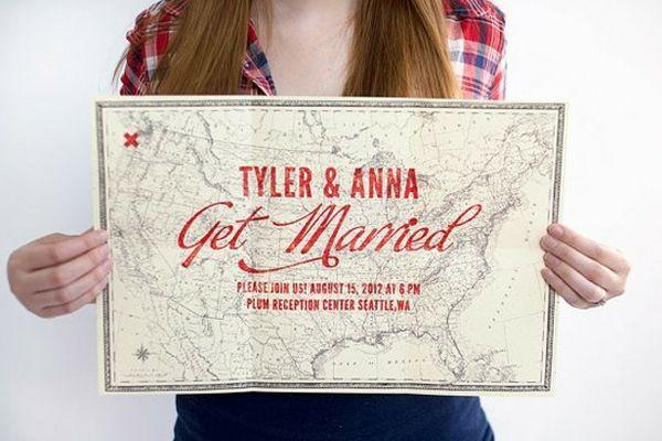 Wedding Invitation Map Maker: Best 25+ Map Invitation Ideas On Pinterest
