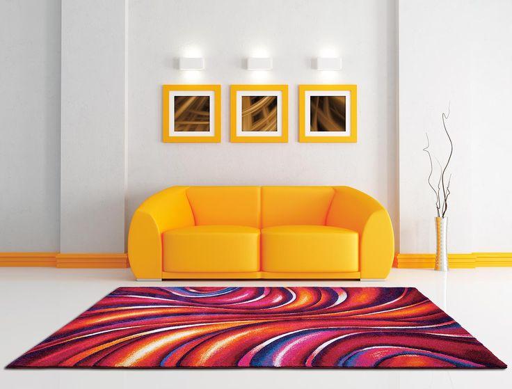 Armonia perfectă dintre modele şi culori îşi lasă amprenta în orice încăpere, fie aceasta un living sau un dormitor.
