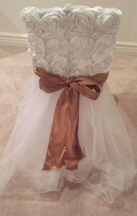 Princess Tulle Chair Tutu Skirts by BaileyHadaParty on ...