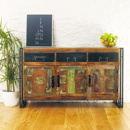 Beautiful Reclaimed Urban Chic Large Sideboard - Shop Now. – Chattels