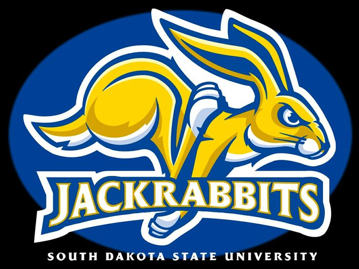 Image result for south dakota state jackrabbits logo colored background