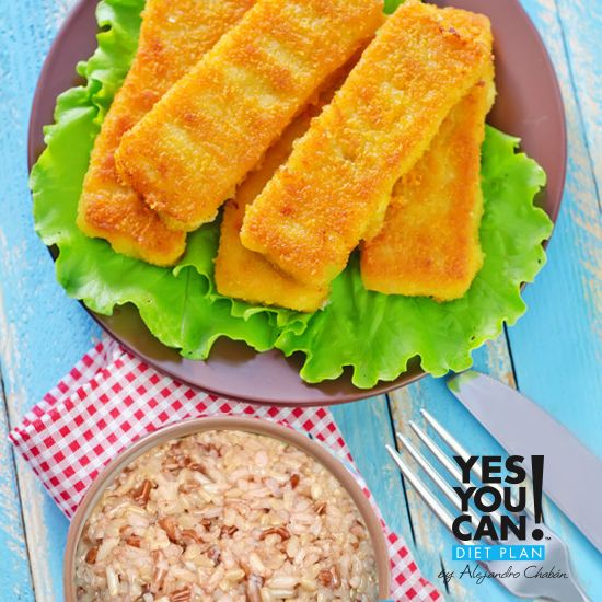 195 best images about recetas de yes you can by chaban on for Healthy fish sticks