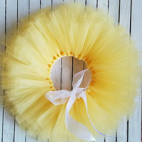 Check out this item in my Etsy shop https://www.etsy.com/listing/492144863/yellow-tutu-skirt