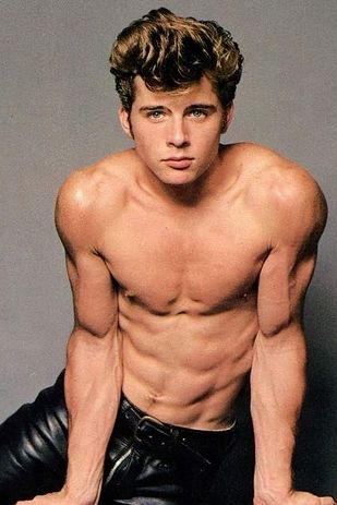 the hunk from Grease 2. Cool Rider indeeed!