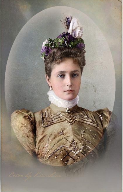 The Romanovs: Empress Alexandra Feodorovna (1872 – 1918), spouse of the Russian Emperor Nicholas II