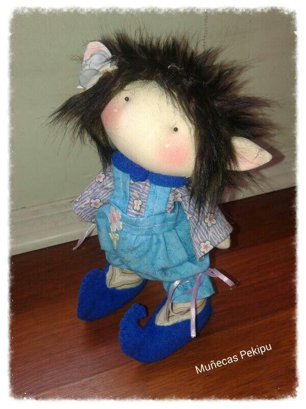 Muñecas Pekipu....