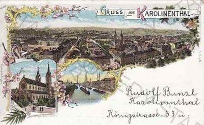 Praha, Karlín - Celkový pohled, Kostel sv. Cyrila