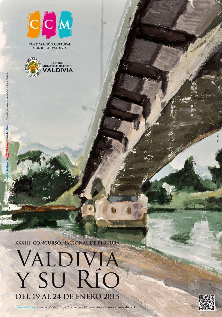 Afiche Valdivia y su Río Adultos 2015
