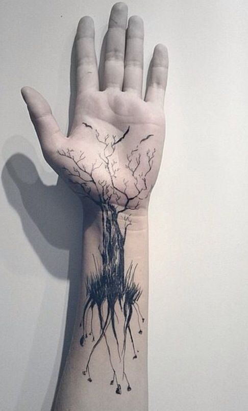 Great hand tattoo! :)