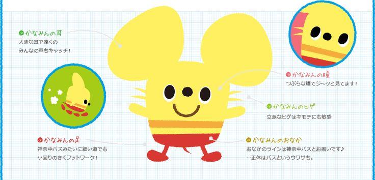 神奈中マスコットキャラクター「かなみん」ホームページ | 神奈川中央交通