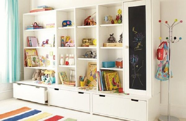 turning a closet into playroom storage | Kids Toys Storage Ideas | Quakerrose