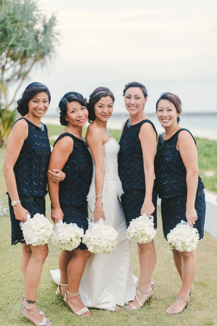 101 best blue navy bridesmaid dresses images on pinterest tropical beachside thailand wedding thailand weddingnavy bridesmaid dressesivory ombrellifo Gallery
