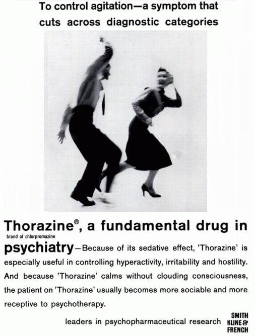 Thorazine patient teaching