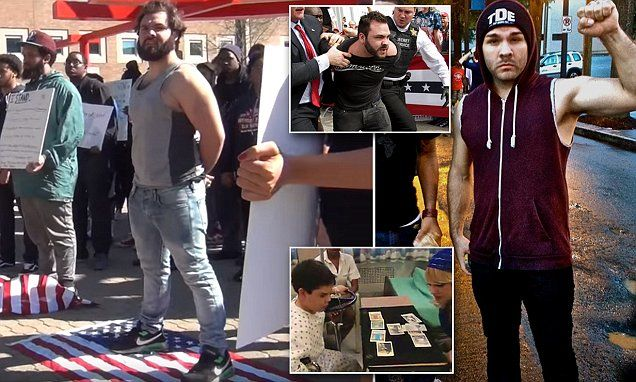 Man who rushed the stage at Trump rally has history of protesting ... NOT associated with ISIS, Trump just makes up the news. Get the facts straight. Do your homework!