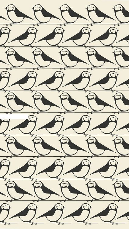 Patternatic, something-modern: Little Bird Repeat Pattern by...