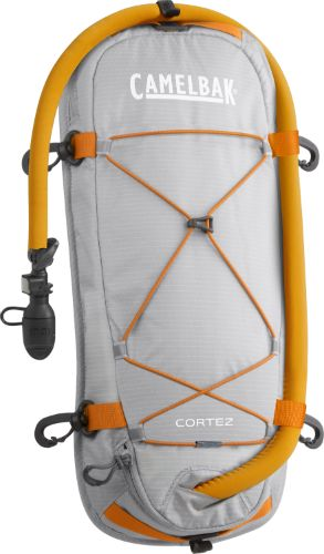 The Cortez allows you to secure your drinking water firmly to your kayak. This deck mounted Antidote reservoir features our Quick Link System, a grip strip on the back side to help it stay in place, a