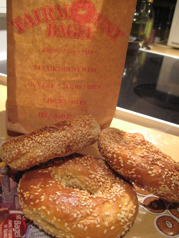 Sesame Bagels from Fairmount Bagel