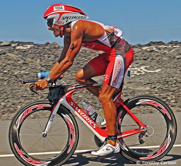 Chris McCormack   Australia  bike split: 4:31:51  bike: Specialized SHIV