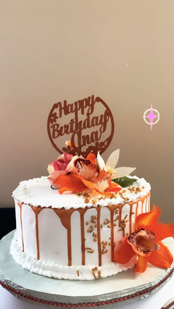 Pin By Amira On Zena Desserts Cake Birthday Cake