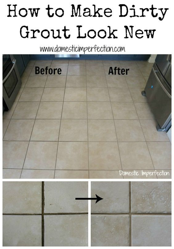 Best 25 sealing grout ideas on pinterest clean shower - How to clean bathroom tile grout ...