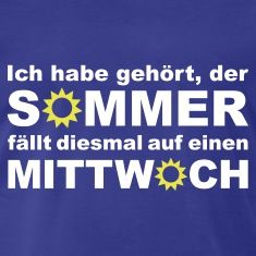 Royalblau Sommer - Wetter - Regen T-Shirts