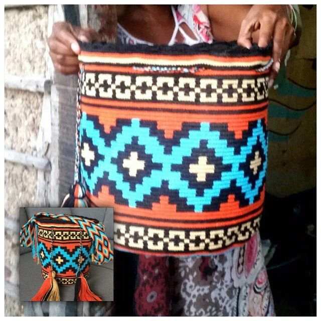 27 отметок «Нравится», 1 комментариев — Wayuubag_BKK (@wayuubag_bkk) в Instagram: «ทำเสร็จปุ๊บ ถ่ายปั๊บ กลายมาเป็นใบนี้ค่า (ภาพเล็ก) ใบนี้งานสั่งทำ รุ่น traditional สีสวย ลายสวย…»