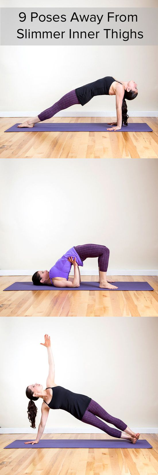 Inner Thighs Activate! 9 Leg-Toning Yoga Poses