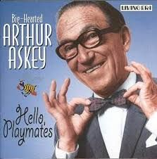 ……watching Arthur Askey on the TV