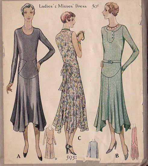 BONNE CHANCE: 1920's Patterns | I dream of clothes ...