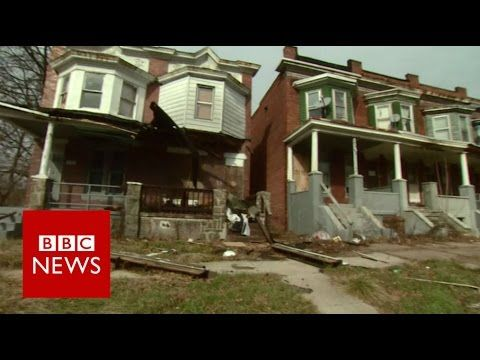 Baltimore: 'This is what poverty in the US looks like' - BBC News