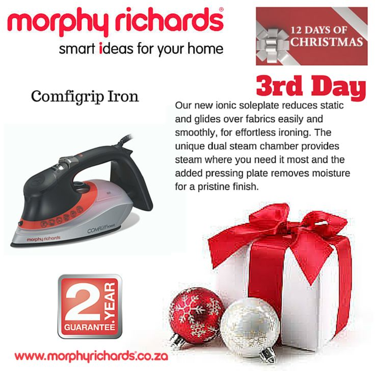 3rd Day - Comfigrip Iron