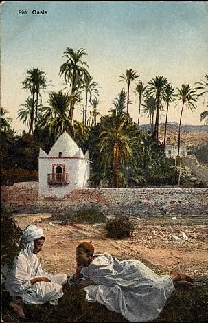 Atelier peintre Étienne Dinet BouSaada Algérie