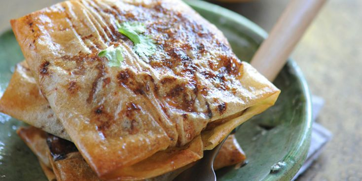 Brick de poulet au miel