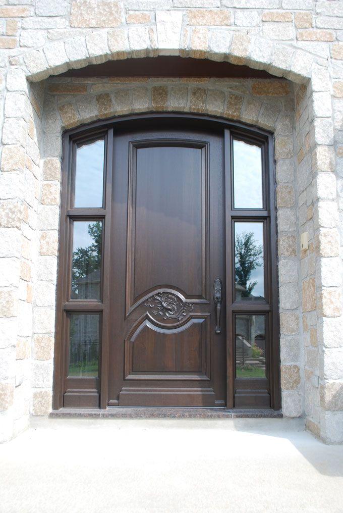 66 best images about portes d entr e en bois wooden front doors on pinterest wood doors. Black Bedroom Furniture Sets. Home Design Ideas