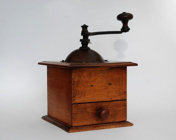 French antique Coffee Grinder Country style by FrenchTouchBoutique